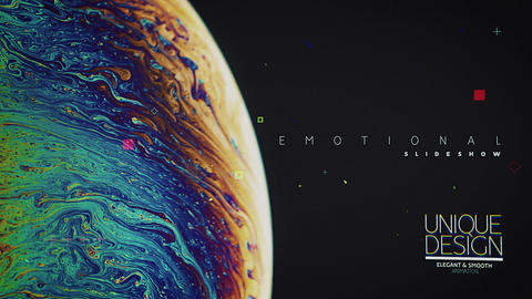 Emotional Slideshow After Effects Template