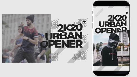 Short Urban Opener Premiere Pro Template