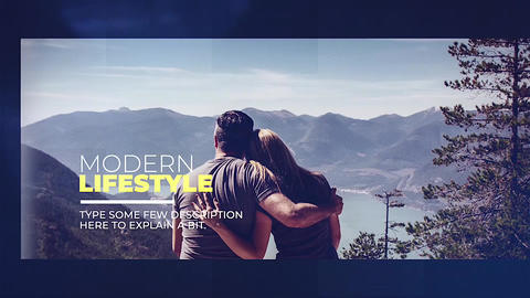 Modern Lifestyle Apple Motion Template