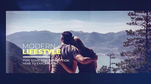 Modern Lifestyle Apple Motionテンプレート