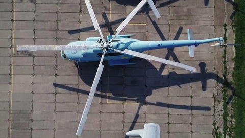 Museum of Aviation in Kyiv, Ukraine. Aircraft Live Action