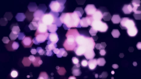 Purple Bokeh Light Overlay Background Animation