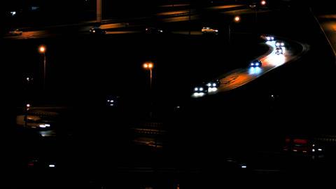 1080p Cars on Road / Cars Traffic / Night City Footage