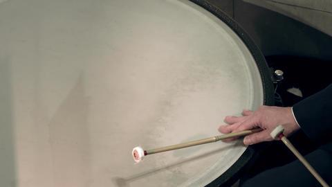 4K Timpanist Plays Timpani at Classical Music Concert Footage