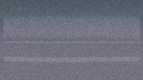 Real TV Static Noise Footage