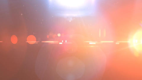 Epic Lights with Lens Flares, Dust and Ray of Lights Footage