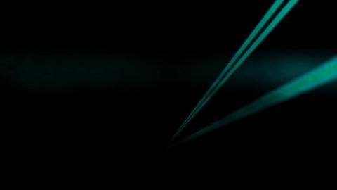 Flickering Disco Laser Spotlights with Smoke Machine Live Action