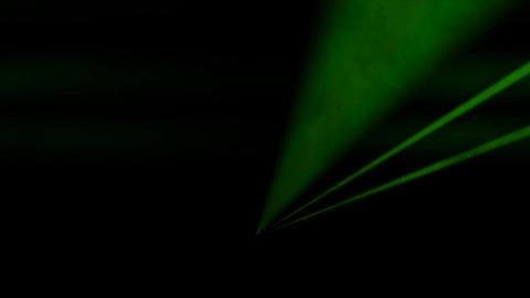 Flickering Disco Laser Spotlights with Smoke Live Action