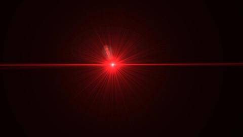 Red Laser Sight Gun Pointer Footage