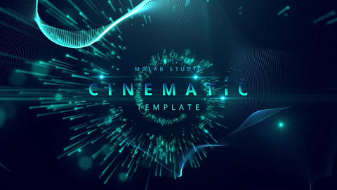 Awards Aqua Titles After Effects Template