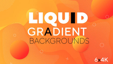 Liquid Gradient Backgrounds After Effects Template