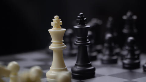 strategic move and chess concept Live Action