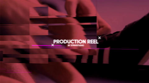 Cinematic Glitch Opener After Effects Template