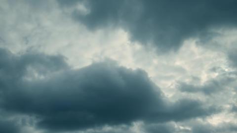 Curling rain clouds time lapse Live Action