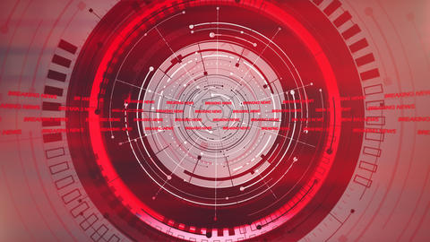 News intro graphic animation with lines and circular shapes, abstract background Animation