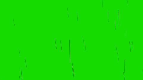 Massive Rain Of Arrows on a Green Screen Background Live Action