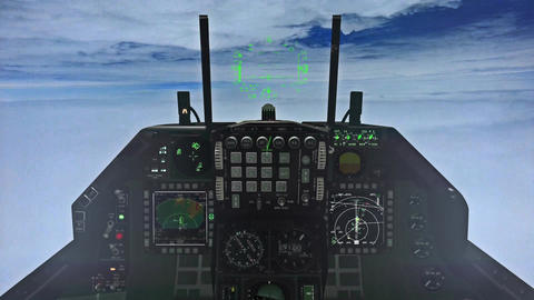 F-15 Cockpit Footage