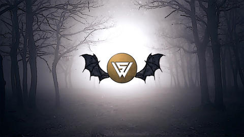 Bats Logo Intro After Effects Template