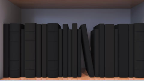 Many spines of the books form the Estonian flag. Literature, culture or science Live Action
