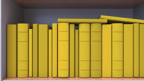 Books make up the Colombian flag. Literature or science in Colombia Live Action