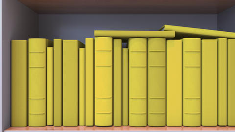 Spines of books compose flag of Belgium. Belgian Literature, culture or science Live Action