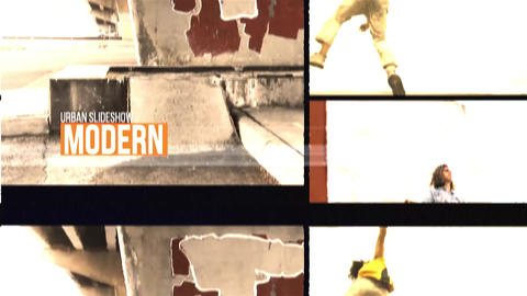 Urban Slideshow After Effectsテンプレート