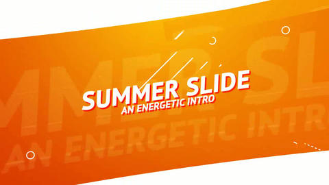 Summur Slide After Effects Template