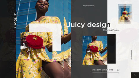 Trendy Fashion Promo Premiere Pro Template