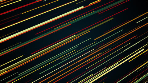 Abstract stripes in space - abstraction of data communication, computer Live Action