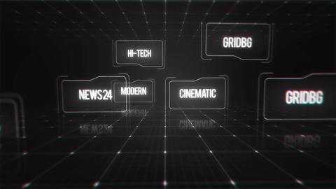 Hi-Tech Titles Motion Graphics Template
