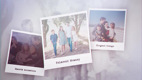 Polaroid Memory After Effects Template