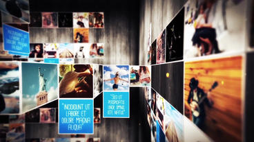 Folding Unfolding Creative Slideshow After Effects Template