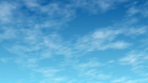 青空の背景動画 CG動画