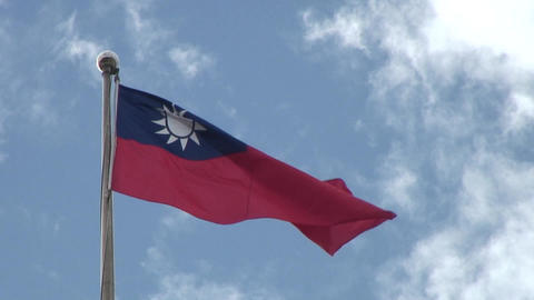 Taiwan National flag Live Action
