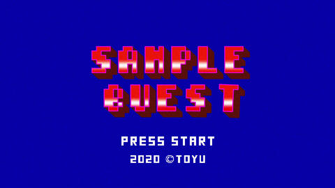 Simple 8bit game After Effects Template