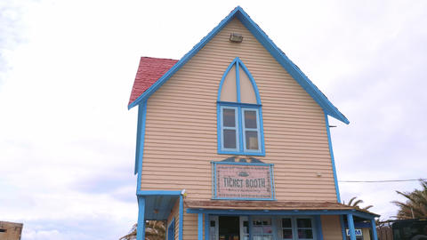 Ticket booth at Popeye Village - a popular landmark and former film location in Live Action