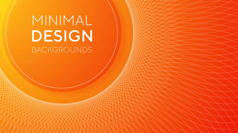 Minimal design backgrounds After Effects Template