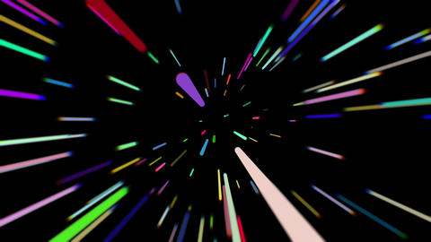 Comic speed radial background. Light Streaks, Futuristic, Speed Motion Animation