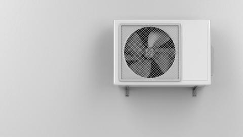 Air conditioner Animation