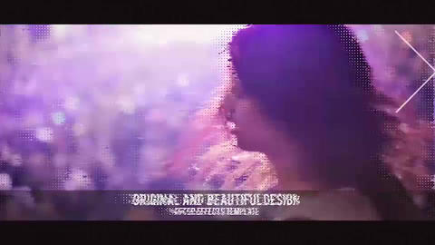 Glitch Media Sequences After Effects Template