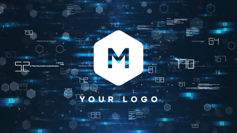 Tech Logo Reveal After Effects Template