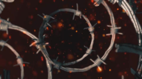 Barbed Wire Logo Reveal After Effects Template