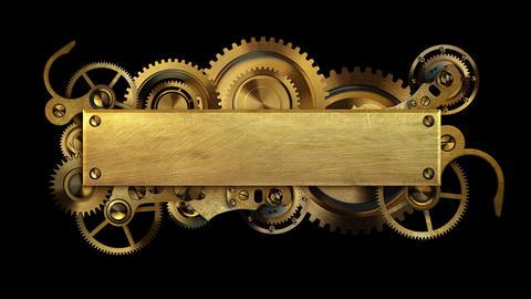 Steampunk mechanism Animation
