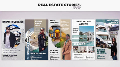 Real Estate Stories v 6 After Effects Template
