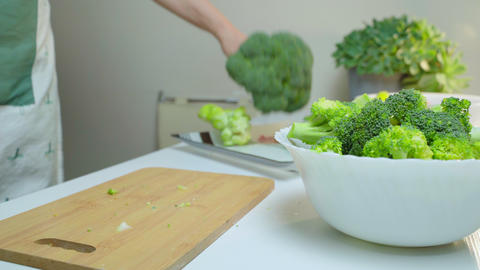 Chopping Broccoli, Live Action