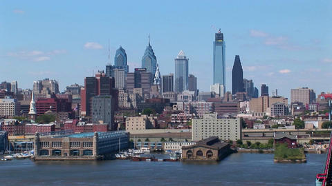 Philadelphia, Pennsylvania at day Footage