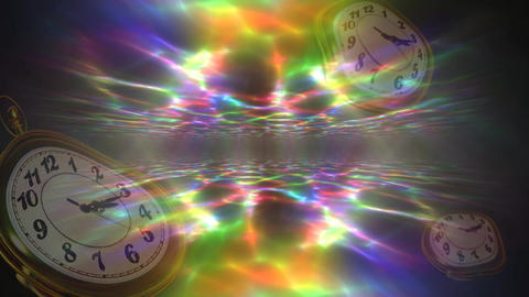 Dimensional clock CG動画