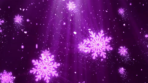 Christmas Holiday Glitters 3 Loopable Background Animation