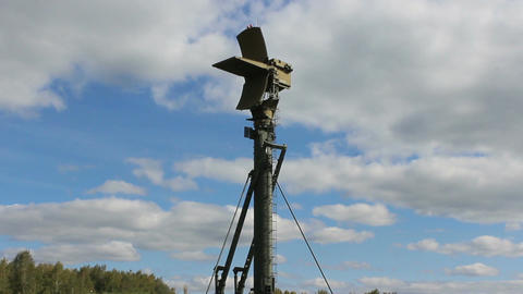 Russian military radar Live Action