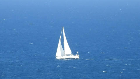 Sailing Boating And Yachting Footage